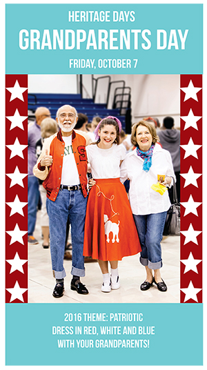 grandparents day 2016 poster