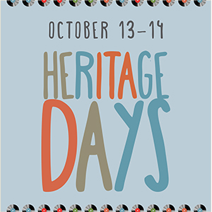 heritage days poster - general